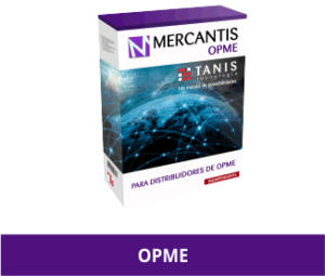 box de sistema de gestão OPME